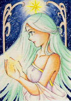 ACEO 20 - Light by ann-chan20