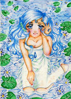 ACEO 28 - Water by ann-chan20