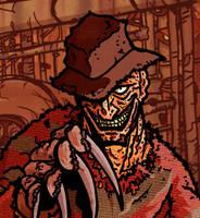 Horror Fest - Freddy Krueger by Gil-ED