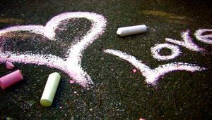 Sidewalk Chalk by eversweetdreams