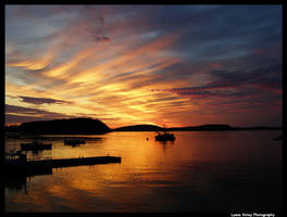 Frenchman Bay Sunrise by BelaBoosMim