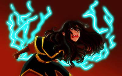 'I'll show you lightning' by trishna87