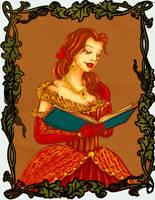 Belle Portrait by trishna87