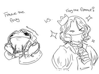 Imagine if all frogs and France looked like this by TerenaChen