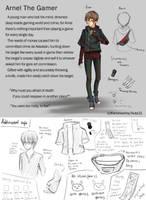 Creepypasta OC: Arnel The Gamer (EDITED V.2.5) by AiUTA31