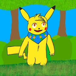 Sam the pikachu by MegaCharizard231
