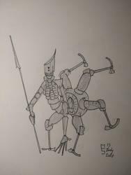 Peerless Lancer by Epistellar
