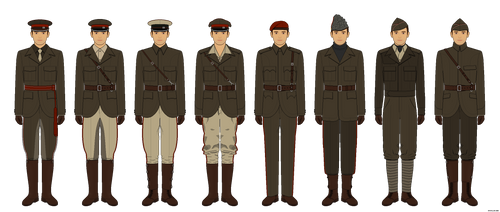 Occasia - Service Uniform Variations by Epistellar