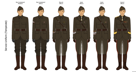 Occasia  - Service Uniform by Epistellar