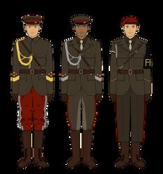 Occasian General's Retinue by Epistellar