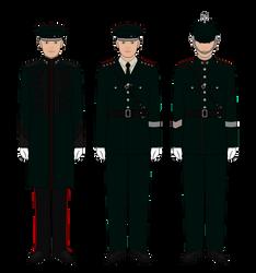 Royal Occidental Constabulary - Circa 1905 by Epistellar