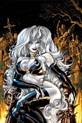 Lady Death on her throne by Duel15