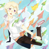 Haru from Tsuritama Ep. 9 by iMii-s