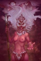 Owl girl by Uruno-Morlith