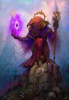 Blizzard fest_2014_Priest K'hilleck by Uruno-Morlith