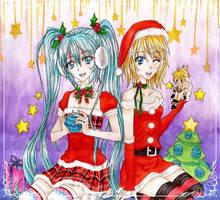 Vocaloid by xMidnight-Dream13x