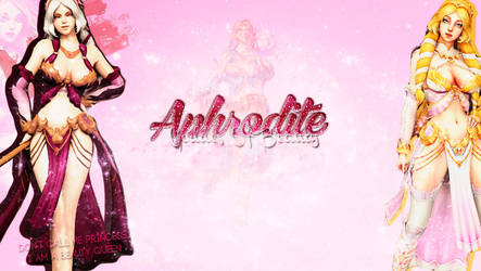 Smite Wallpaper - Aphrodite by LalalaSomers