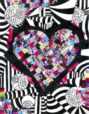 Heart Collage by slinksterdog