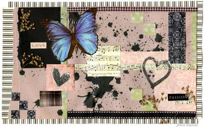 Love and Passion Collage by slinksterdog