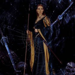 Dark Minerva by NessaSilverwolf