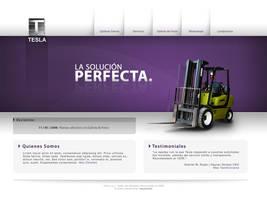 Tesla Website by Luiti