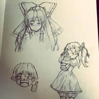 sketches :) by DexadiDraw