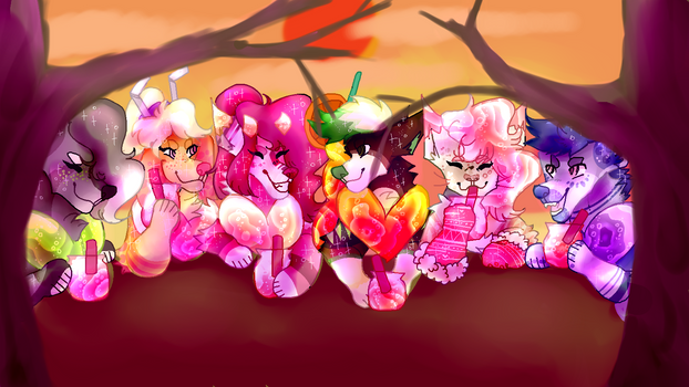 San Valentin Drink Party by mrmemxed