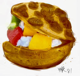 Fruitburger by AggieOoo