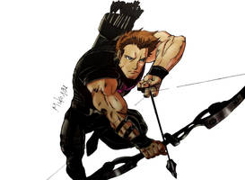 Hawkeye by MikeES