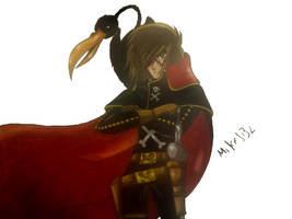 Capitan Harlock by MikeES