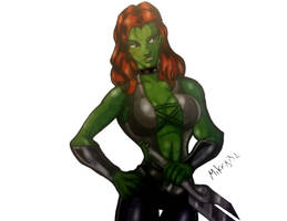 Gamora by MikeES