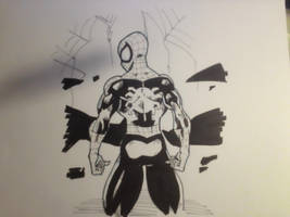 Spiderman Sketch by MikeES
