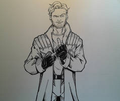 Star Lord Inks by MikeES