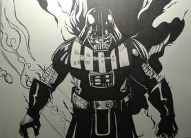 Darth Vader Inks by MikeES