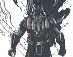 Darth Vader Scan by MikeES
