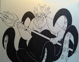 Ursula Inks by MikeES