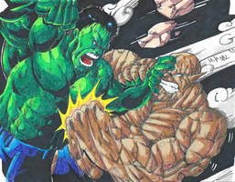 Hulk Vs Abomination Scan by MikeES