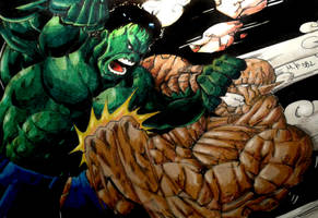 Hulk Vs Abomination Colors (Final) by MikeES