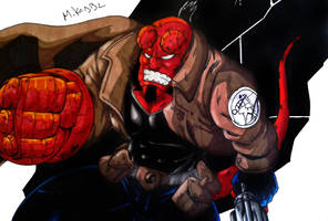 Hellboy Colors (Final) by MikeES