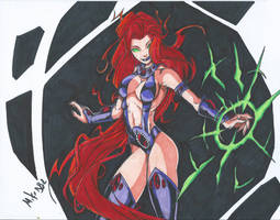 Starfire Scan by MikeES