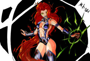 Starfire Colors (Final) by MikeES