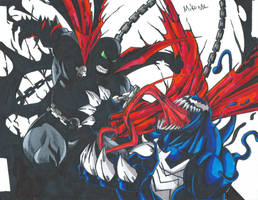 Venom Vs Spawn Scan by MikeES