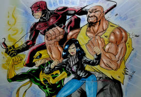 The Defenders by MikeES