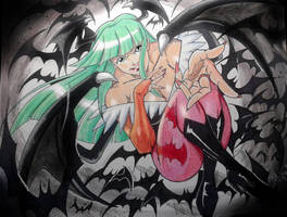 Morrigan by MikeES