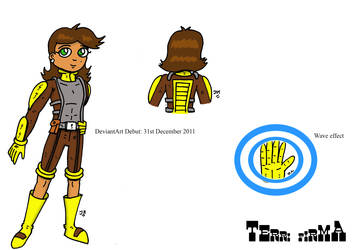 Terri Firma Character Model Part 1 by JohnnyFive81
