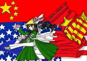 Vietnam sadness Victory by Lemonsmile