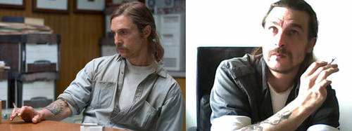 Rust Cohle for Halloween by undeadbilly