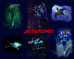 Beast Machines Jetstorm wallpaper by AlphaPrimeDX