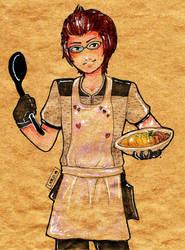 Iggy the best chef by LeKo-TheHunter
