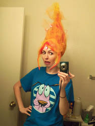 Flame Princess Wig by Kimba616